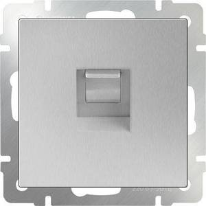 Розетка Ethernet RJ-45 Werkel серебряный WL06-RJ-45