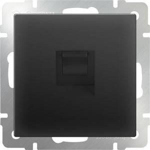 Розетка Ethernet RJ-45 Werkel черный матовый WL08-RJ-45