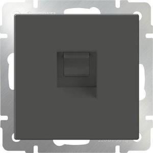 Розетка Ethernet RJ-45 Werkel серо-коричневая WL07-RJ-45