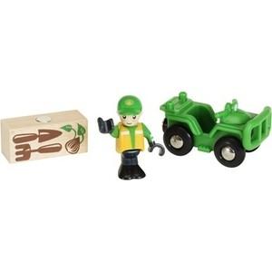 Brio Вездеход с аксессуарами (33798)  brio локомотив и грузовые вагоны с животными