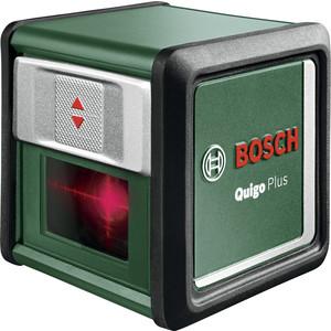 Лазерный нивелир Bosch Quigo Plus нивелир bosch лазерный quigo ii 0603663220