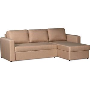 Фотография товара диван-кровать угловой СМК Дублин 211 2д-1Пф 193 золотисто-бежевый (583052)