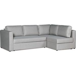 Диван-кровать угловой СМК Приор 219 2д-1пф 194 серый