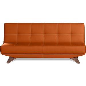 Диван-кровать СМК Бохум 091 3к 127 оранжевый