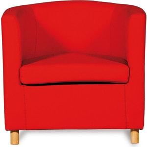 Кресло СМК Дисо 3 042 1х к/з Санторини 0421 красный
