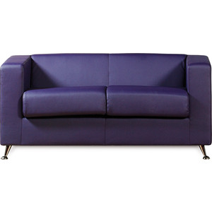 Диван СМК Модуле 041 2х к/з Санторини 0407 фиолетовый