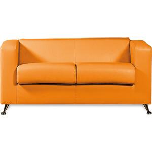 Диван СМК Модуле 041 2х к/з Санторини 0432 оранжевый
