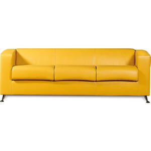 Диван СМК Модуле 041 3х к/з Фалкон 12 GL желтый