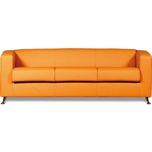 Диван СМК Модуле 041 3х к/з Санторини 0432 оранжевый