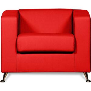 Кресло СМК Модуле 041 1х к/з Санторини 0421 красный