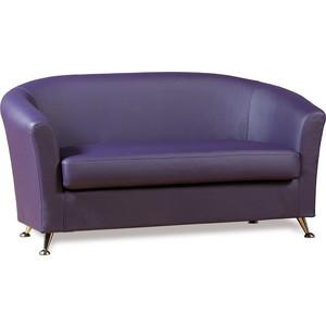 Диван СМК Бонн 040 2х к/з Санторини 0407 фиолетовый диван смк бонн 040 2х к з орегон 3023 беж page 3