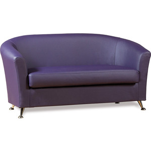 Диван СМК Бонн 040 2х к/з Санторини 0407 фиолетовый тобрекс 2х 0 3
