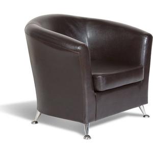 Кресло СМК Бонн 040 1х к/з Рекс 320 коричневый диван смк бонн 040 2х к з орегон 3023 беж page 3
