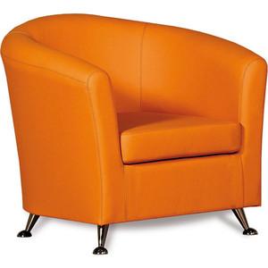Кресло СМК Бонн 040 1х к/з Санторини0432 оранжевый