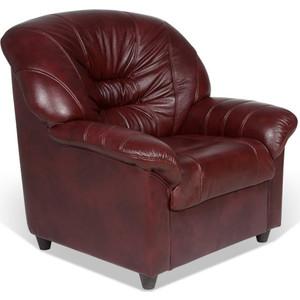 Кресло СМК Шарлотта 045 1х Тт Фиссато Оксблад+к/з бордо 320300 045 umbra