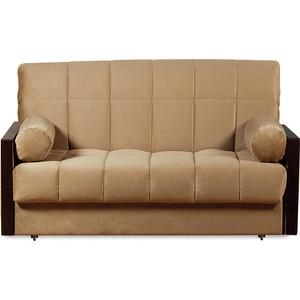 Диван-кровать СМК Орион 084 3а 140 С68/Б86/П00 179 коричневый