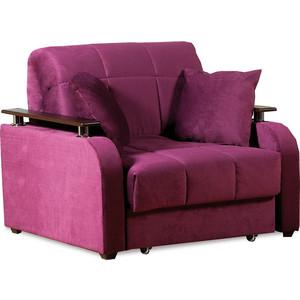 Кресло-кровать СМК Неаполь 086 1а 80 С68/Б88/П00 244 фиолетовый