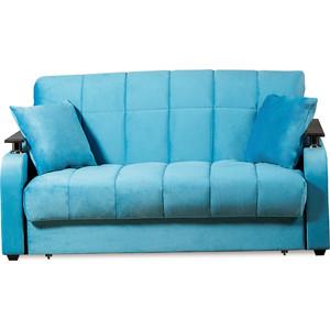 Диван-кровать СМК Неаполь 086 3а 140 С68/Б88/П00 245 бирюза диван кровать смк бохум 091 3к 245 бирюза