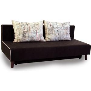 Диван-кровать СМК Альто 222 3ек 234 бежевый/коричневый