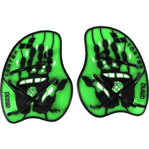 Лопатки для плавания Arena Vortex Evolution Hand Paddle (зеленые L)