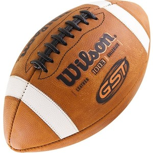 Мяч для американского футбола Wilson GST Official WTF1003 мяч indigo 5 official 1132