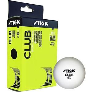 Мяч для настольного тенниса Stiga Club 1110-0310-6