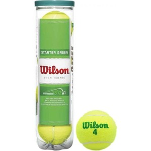 Мячи теннисные Wilson Starter Green Play WRT137400