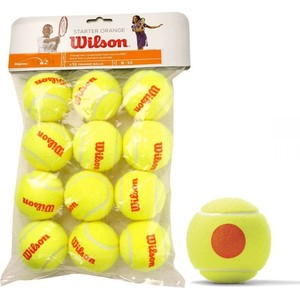 Мячи теннисные Wilson Starter Orange WRT137200 williams wilson куртка
