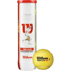 Мячи теннисные Wilson Tour Clay Red WRT110800 90s pop tour metepec