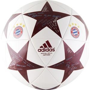 Мяч футбольный Adidas Finale16 Capitano FC Bayern (р.5)