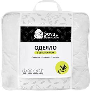 Двуспальное одеяло Сова и Жаворонок Эвкалипт 172x205 цена