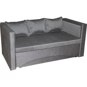 Кушетка АртМебель Принц правый Серый кресла и кушетки