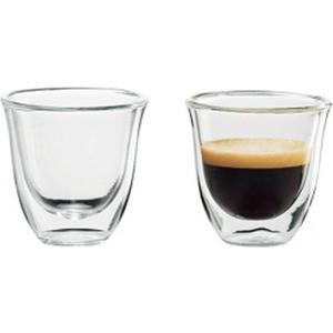 Аксессуар DeLonghi чашки для эспрессо Espresso cups (2 шт) кофемашина delonghi ecam 45 760 w белый