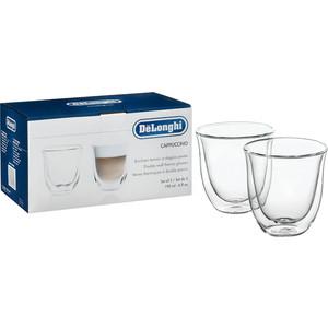 Аксессуар DeLonghi чашки для капучино Cappucino cups (2 шт) кофемашина delonghi ecam 45 760 w белый