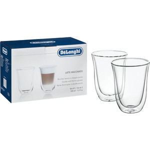Аксессуар DeLonghi чашки для латте MACCHIATO аксессуар delonghi чашки для латте macchiato