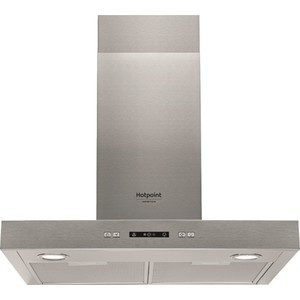 Вытяжка Hotpoint-Ariston HHBS 6.7F LL X вытяжка каминная hotpoint ariston hlb 9 8 aadc x ha