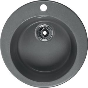 Мойка кухонная Rossinka 47 с сифоном (RS47R-Gray) кухонная мойка marmorin halit gray 1b1d r 520 113 003