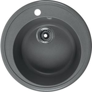 Мойка кухонная Rossinka 51 с сифоном (RS51R-Gray) кухонная мойка marmorin halit gray 1b1d r 520 113 003