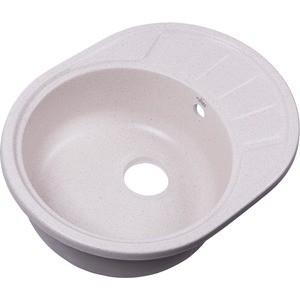 Мойка кухонная Rossinka 57x44 реверсивная, с сифоном (RS58-45RW-White) cntomlv 1pcs кухонная техника для выпечки diy white plastic dumpling mold maker тестовое прессование пельменей 19 отверстий пельме