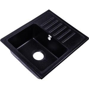 Мойка кухонная Rossinka 55x45,2 реверсивная, с сифоном (RS56-46SW-Black) елена сахарова реверсивная поэзия как диалог с пустотой