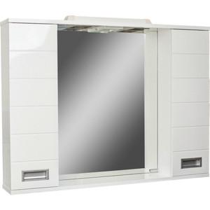 Шкаф-зеркало Домино Cube 100 Эл (DC5013HZ)  домино cube 65 левый