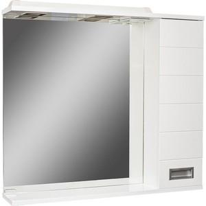 Шкаф-зеркало Домино Cube 65 Эл правый (DC5007HZ)  домино cube 65 левый