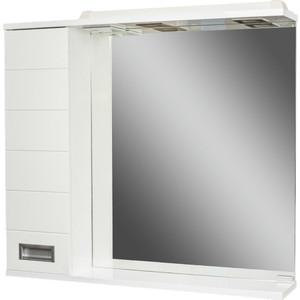 Шкаф-зеркало Домино Cube 75 Эл левый (DC5008HZ)  домино cube 75 правый