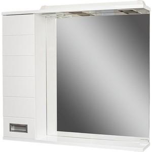 Шкаф-зеркало Домино Cube 80 Эл левый (DC5010HZ) santek домино левый 1wh5l1471 венге