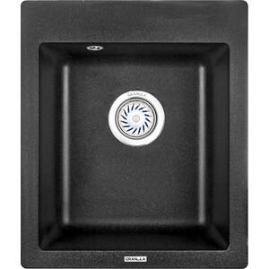Мойка кухонная Granula 41,5х49 см черный (GR-4201 черный) фонарь mag lite 6d 49 5 см черный в картонной коробке