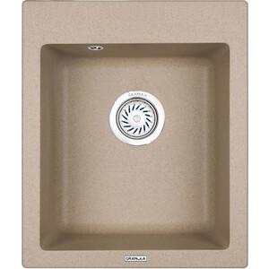 Мойка кухонная Granula 41,5х49 см песок (GR-4201 песок) мойка кухонная granula 77 5x49 5 см песок gr 7801 песок
