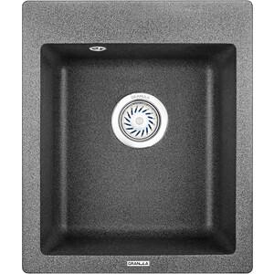 Мойка кухонная Granula 41,5х49 см графит (GR-4201 графит) мойка кухонная granula 50 5х51 см графит gr 5102 графит