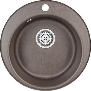 Мойка кухонная Granula 41,5х49 см эспрессо (-4801 )