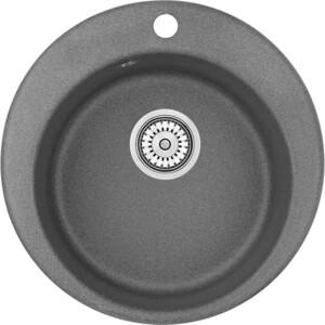 Мойка кухонная Granula 41,5х49 см графит (GR-4801 графит)