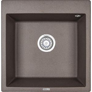 Мойка кухонная Granula 50,5х51 см эспрессо (GR-5102 эспрессо) мойка кухонная granula 50 5х51 см графит gr 5102 графит